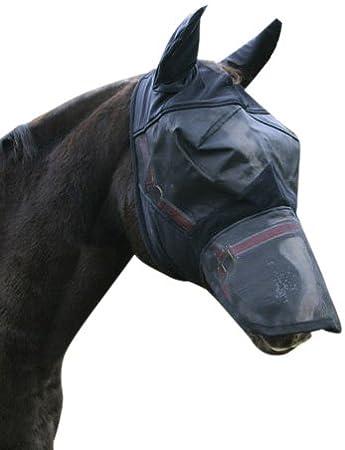 Kerbl Fliegenschutzmaske inkl. Nasenrücken- und Ohren Schutz