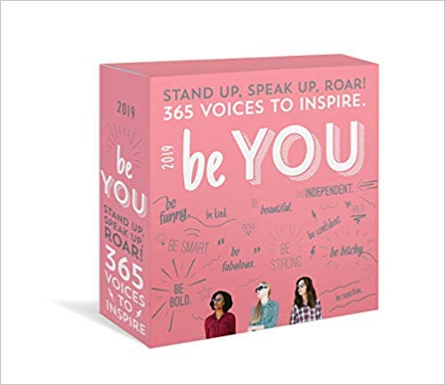 2019 Be You Boxed Calendar
