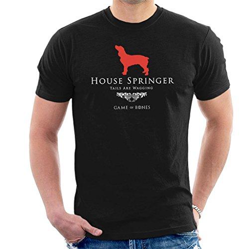 Game of Bones House Springer Spaniel Game of Thrones Parody Men