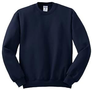 Jerzees 8 oz Sweatshirt (562M) Available in 28 Colors 5X True Navy
