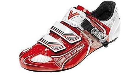 online store 28ee6 a3765 Vittoria RR Brave Rennrad Scarpe Road Shoes Rosso o Nero