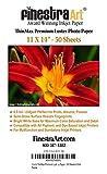 "11"" X 14"" ThinMax Premium Luster Inkjet Photo Paper"