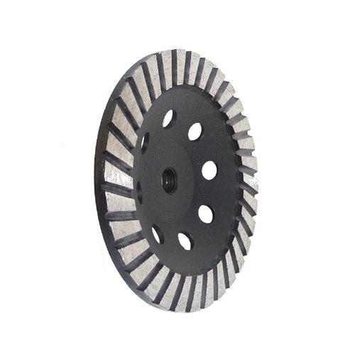 """7"""" Diamond Turbo Cup Wheel Steel Based - Coarse"""