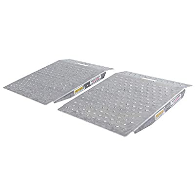 Guardian SR-01-24-24-P-TS6-2 Shed Ramps with Punch Plate Surface: Automotive