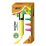 BIC Brite Liner Flat Highlighter, Chisel