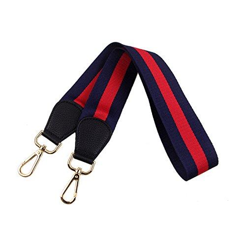 Del Cinturón Desmontables Umily 103cm Bolsa De Universal Accesorios Para de Hombro Bolso Azul Recambio Hombro Correa rojo Cinturón Mujeres vPwOvq