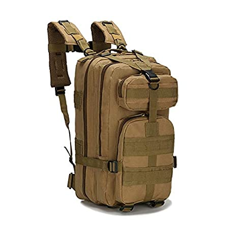 Amazon.com: 3P Military Tactical Backpack Men Women Nylon Sport ...