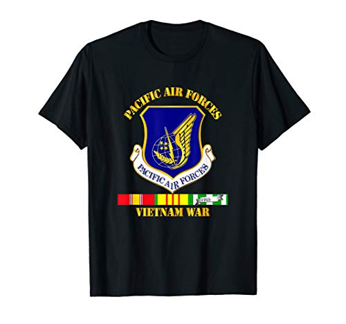 Vietnam War - Pacific Air Forces Tshirt