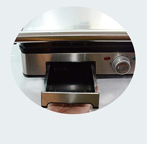 Toasters cuisson sandwich Panini poêle électrique Presses amovibles Plaques sandwich Panini machine antiadhésifs Petit-déjeuner Toast Steak Burger Faites Grils KNDTA