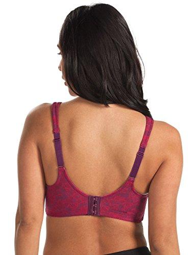 ab9162728 Leading Lady Women s Plus-Size Wireless Padded T-Shirt Bra ...