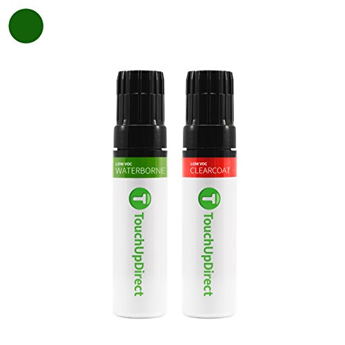 TouchUpDirect Exact Match Automotive Touch Up Paint matches Ford Dark Highland Green (PX/M6920) Jar - Essential Package