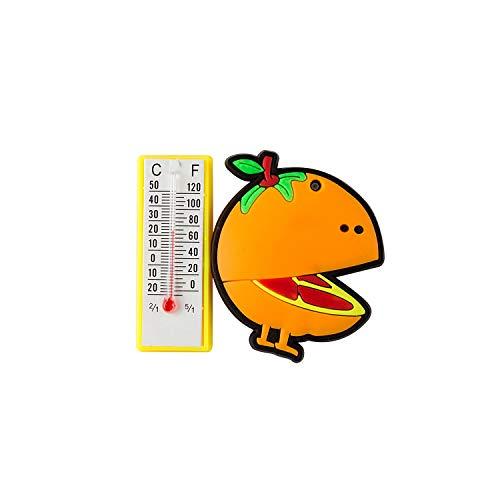 SG Orange Temperature Fridge Magnet
