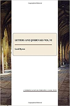 Book Letters and Journals Vol. VI: 6