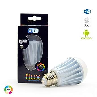 flux wifi smart led light bulb compatible with alexa google home assistant ifttt. Black Bedroom Furniture Sets. Home Design Ideas