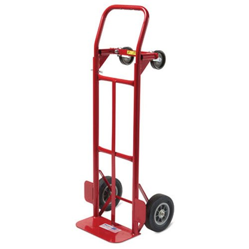 Milwaukee Hand Trucks 35080 Convertible Truck with 8-Inch Puncture Proof Tires (The Best Truck Tires)