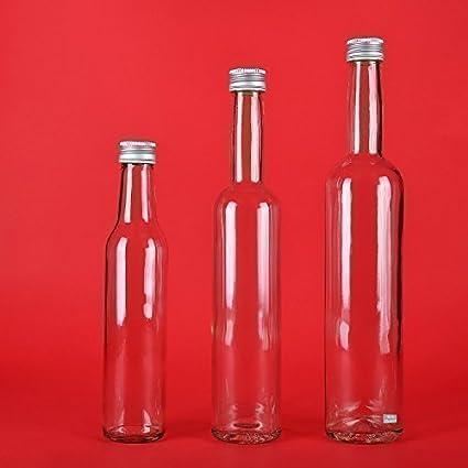 Botellas de Vidrio Vacías de 100/250/350/500 ml 6 Unidades para