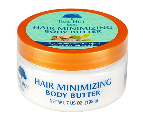 (Tree Hut bare Hair Minimizing Body Butter, 7oz, Essentials for Soft, Smooth, Bare Skin)