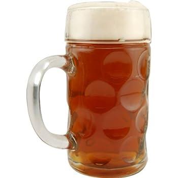 Oktoberfest Bavarian Isar Beer Mug - 1 Liter Mass Krug