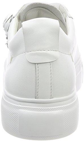 und Baskets Schmenger Femme Bianco Weiß Weiß Big Sohle Kennel HwRqxR