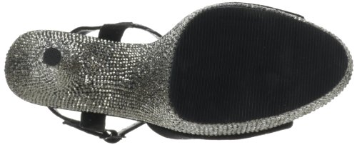 Mujer Pleaser Rs Suede Pewter Blk Sandalias 1wUCn5wqx4