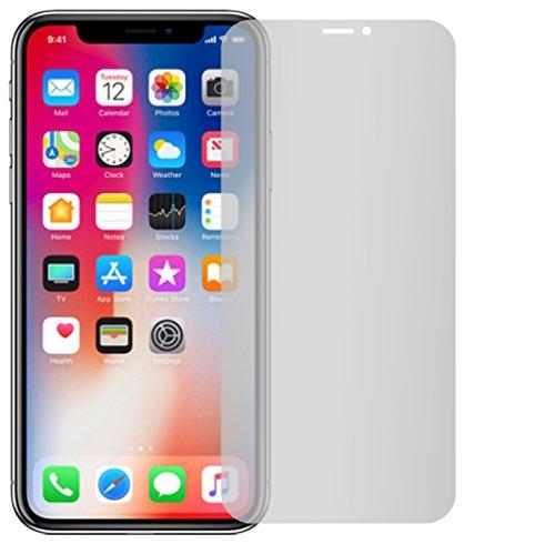 4 x Slabo pellicola protettiva per display iPhone X protezione display No Reflexion|Anti-Riflesso OPACA - senza riflesso MADE IN GERMANY
