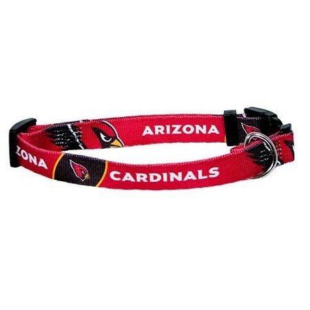 Hunter MFG Arizona Cardinals Dog Collar, Medium, My Pet Supplies