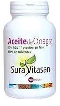 Aceite de Onagra 180 perlas de 500 mg de Sura Vitasan: Amazon.es: Salud y cuidado personal