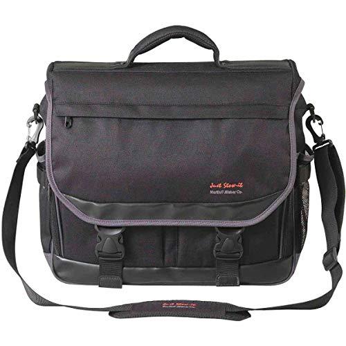 Martin Just Stow-it Ultimate Messenger Bag for the Arts, Black (Universal Messenger Bag)