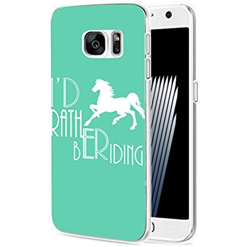 S7 Case Horse/ IWONE Samsung Galaxy S7 Case Tpu Skin Cover Protective Rubber Silicone + Horse Design Animal Quotes Sales