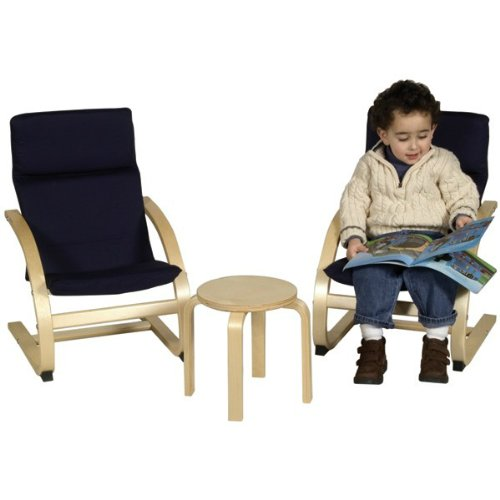 Guidecraft Kiddie Rocker Chair Set - Blue by Guidecraft