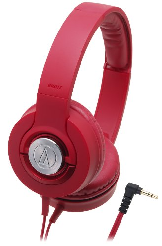 Audio Technica ATH-WS33X (Red) - 1