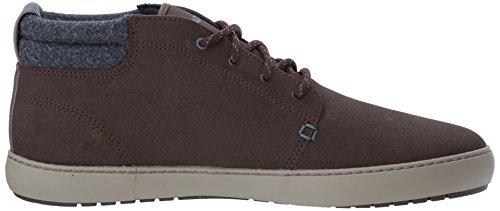Lacoste Men's Ampthill Terra 417 1 Sneaker, Dark Brown, 9 M US