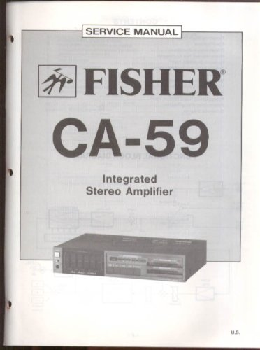fisher-ca-59-integrated-stereo-amplifier-service-manual-1983