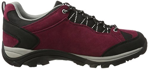 McKinley Nago Aqx W - Zapatillas multiusos, rojo oscuro y gris, Red Dark / Grey, 38 Red Dark / Grey