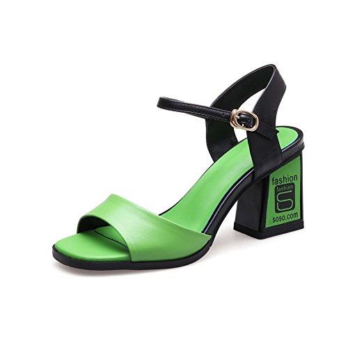 green 35 Donna Adeesu Verde Ballerine wqtF4