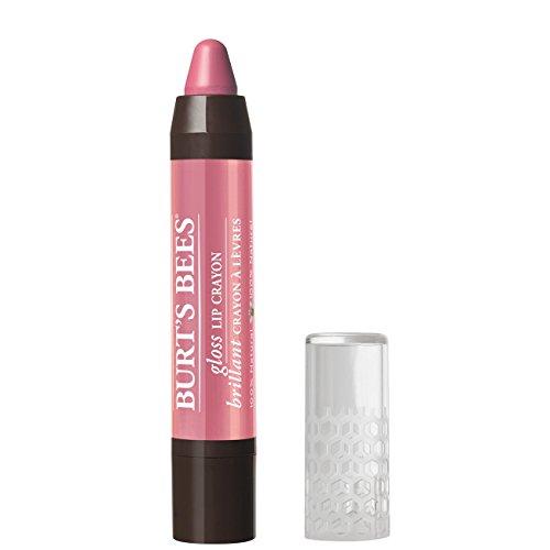 Burt's Bees 100% Natural Moisturizing Gloss Lip Crayon, Pink Lagoon – 1 Crayon