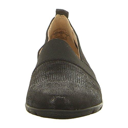 Caprice 24650 Damen Slipper black rep comb