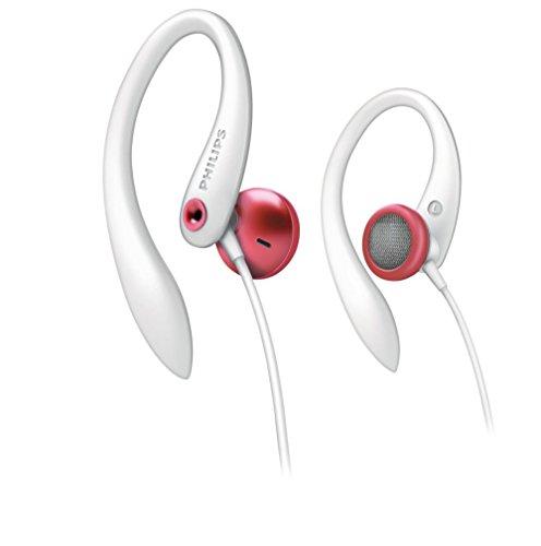 Philips Earhook Headphone SHS3212 Red