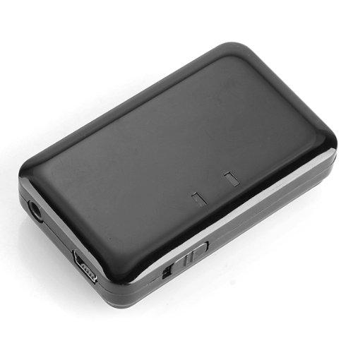Transmisor Audio 3.5mm Bluetooth Estéreo Negro para TV DVD MP3 MP4: Amazon.es: Electrónica