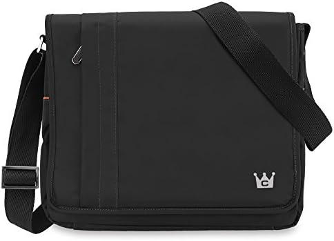 CaseCrown Poly Messenger Bag Black