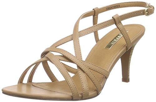 ESPRIT Dor Sandal, Damen Knöchelriemchen Sandalen, Braun (235 caramel), 39 EU