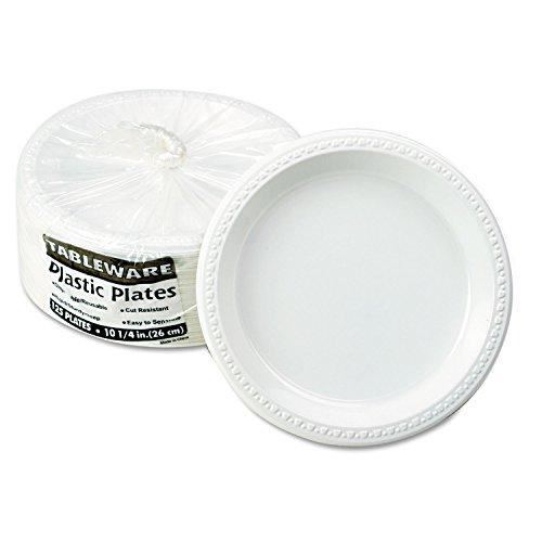 (TBLTM10644WH - Tablemate Plastic Dinnerware)