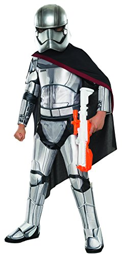 Star Wars: The Force Awakens Child's Super Deluxe Captain Phasma Costume, Medium ()