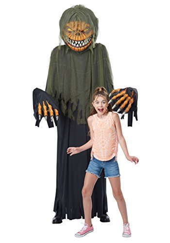 California Costumes Towering Terror Pumpkin - Adult Costume Adult Costume, -black/Green, One Size ()