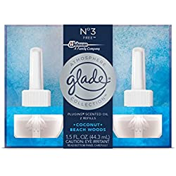 Glade Atmosphere Collection Plugins Scented Oil 2 Piece Refill Air Freshener, Free, 1.5 Fluid Ounce