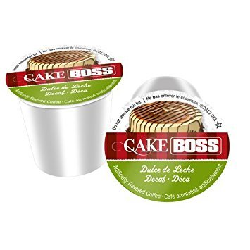 Cake Boss SNCB5352-96 Dulce De Leche Decaf Coffee - 96 Count