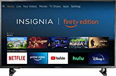 The Insignia 4K UHD Smart TV is a new generation of televisions, featuring the Fire TV experience built-in and including a Voice Remote with Alexa. With true-to-life 4K Ultra HD picture quality and access to all the movies and TV shows you lo...