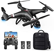 Holy Stone GPS Drone with 1080P HD Camera FPV Live Video for Adults and Kids, Quadcopter HS110G with Carrying