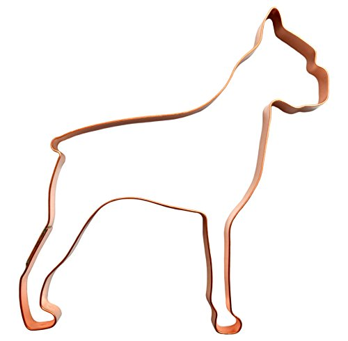 Biscuit Dog Ornament (Boxer Dog Cookie Cutter)