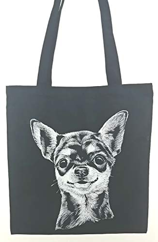 Chihuahua Dog Breed Tote Bag